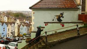 Neues Werk von Streetart-Künstler Banksy aufgetaucht