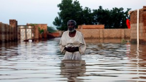 Sudan erlebt Jahrhundertflut