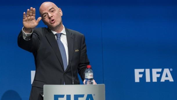 Strafverfahren gegen Fifa-Präsident eröffnet
