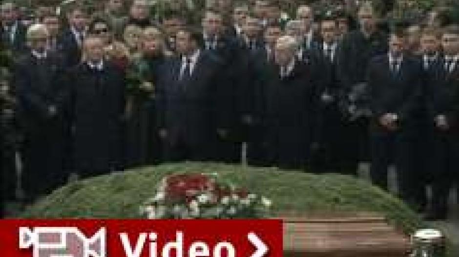 Letzte Ehre für Boris Jelzin
