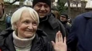 Margot Honecker tritt öffentlich auf