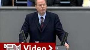 Schlagabtausch im Bundestag