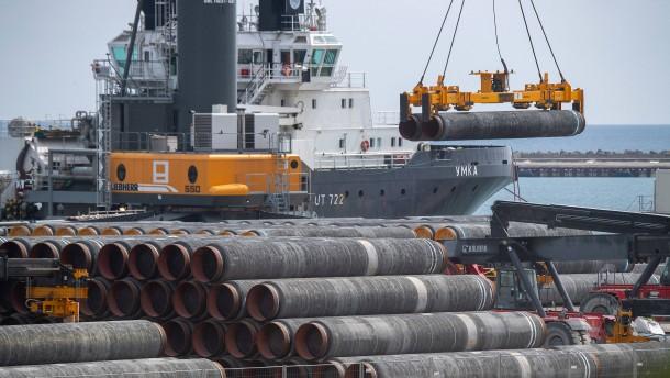 Nord Stream 2 rechnet Ende August mit Abschluss der Bauarbeiten