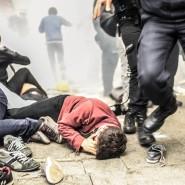 Mit Tränengas und Wasserwerfern ging die türkische Polizei im Frühjahr gegen die Gezi-Demonstranten vor.
