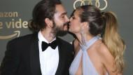 Schwer verliebt: Supermodel Heidi Klum mit Freund Tom Kaulitz