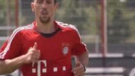 Franck Ribery zurück beim FC Bayern