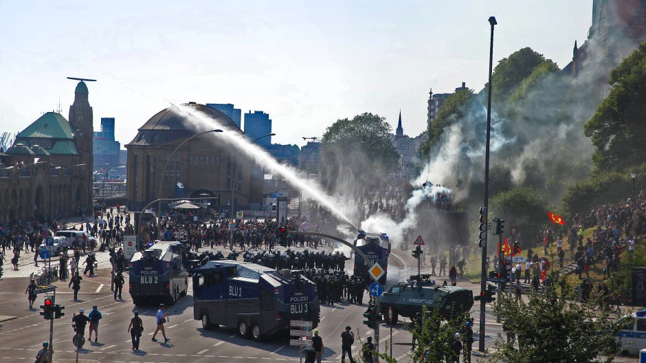 Gewalt bei G20: Rechtsfreie Zone Schanzenviertel