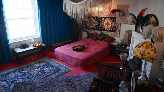 Jimi Hendrix' Wohnung ist im Originalzustand