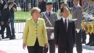 Merkel bedankt sich für Hilfsangebot