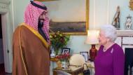 Der Prinz und die Königin: Muhammad Bin Salman trifft Elisabeth II.