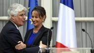 Die Courage hat sich gelohnt: Ségolène Royal nach der Ernennung zur Umweltministerin mit ihrem Amtsvorgänger Philippe Martin