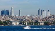 Das Finanzzentrum der Türkei: Istanbul.