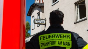 Feuer in Frankfurt keine vorsätzliche Brandstiftung