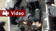 Die Bilder, die Präsident Chavez stürzten