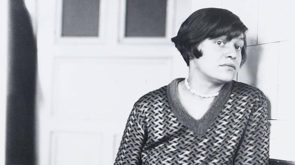 In den zwanziger Jahren war sie auf der Höhe ihres Schaffens: Elfriede Rose-Wächtler um 1928.