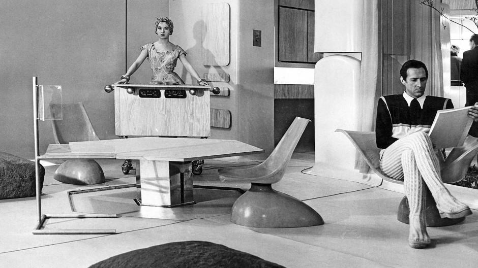 Das Haus der Zukunft (1956): Einblicke in den Neuen Brutalismus