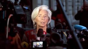 Lagarde entgeht  Ermittlungsverfahren