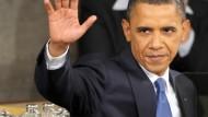 Spannung vor Obamas Rede an die Nation