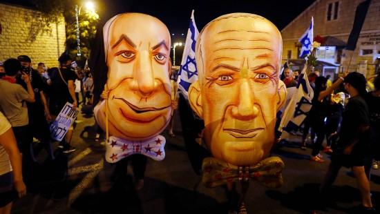 Erneut Proteste gegen Regierungschef Netanjahu
