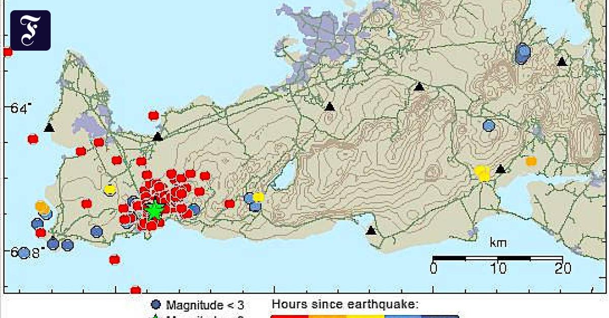 Island: Erdbeben mit Stärke 5,2