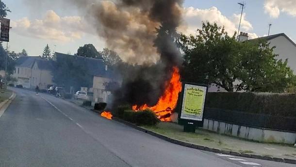 Fünf Tote nach Flugzeugunglück in Frankreich