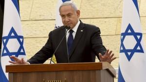Jetzt sind Netanjahus Gegner am Zug