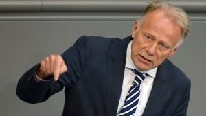 Trittin warnt grüne Parteikollegen vor Zustimmung im Bundesrat