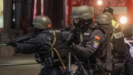 Polizisten trainieren für den Ernstfall