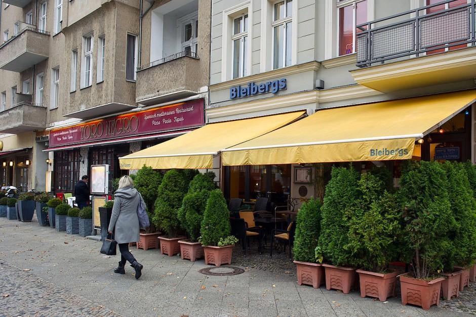 """Kommen: Das Café """"Bleibergs"""" ist eines der wenigen koscheren Gasthäuser in Berlin."""