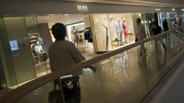Hugo Boss leidet unter den eigenen Rabatten