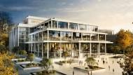 Erste Idee:So könnte der Neubau der Frankfurter Oper an einem noch zu bestimmenden Standort aussehen.