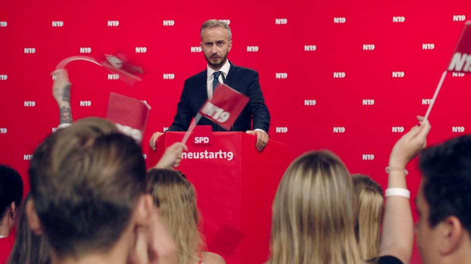 Jan Böhmermann wollte sich für den SPD-Vorsitz bewerben.