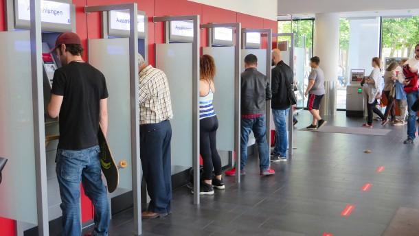 Der unberechenbare Geldautomat