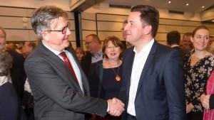 Bürgermeister-Kandidaten im F.A.Z.-Bürgergespräch