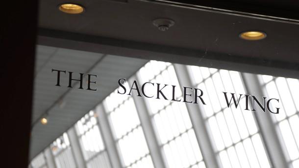 Museen wollen das Geld der Sacklers nicht mehr