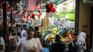Längst nicht mehr nur arabisches Viertel: Gemüseläden auf der Neuköllner Sonnenallee.