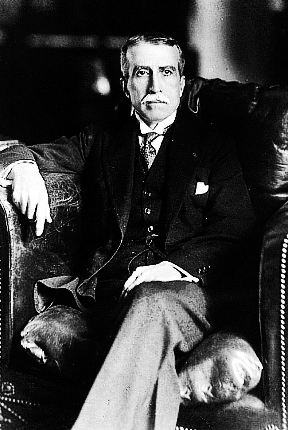 Von 1908 bis 1912 und von 1919 bis 1930 war Augusto Leguía peruanischer Präsident.