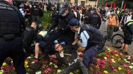 Zusammenstöße bei Protesten in Sydney