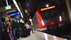 Fast jede zehnte S-Bahn im Rhein-Main-Gebiet zu spät