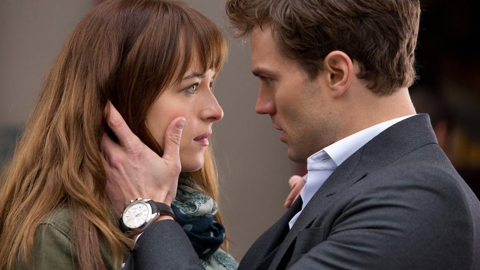 """Ich schau dir in die Augen, Kleines: Dakota Johnson und Jamie Dornan in der Verfilmung von """"50 Shades of Grey"""""""
