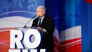 Kaczynski ist zurück im Rampenlicht
