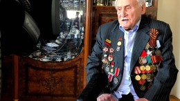 Kriegsveteran erinnert sich an die Befreiung des KZ Auschwitz