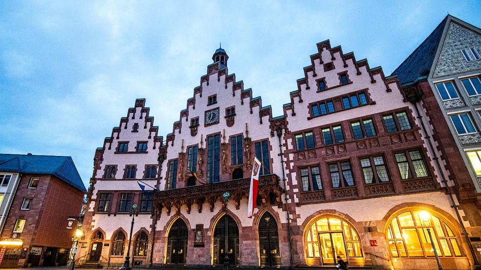 Der Frankfurter Römer, Sitz der Stadtverordnetenversammlung und Stadtregierung