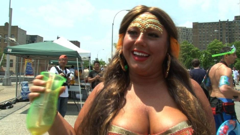Meerjungfrauen-Parade in New York