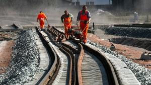 750 Baustellen stören den Zugverkehr