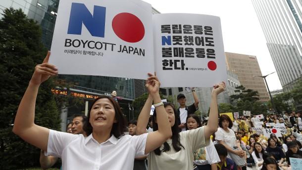 Südkorea kontert Japan im Handelsstreit