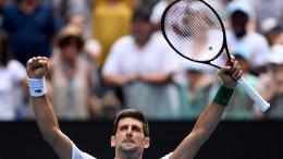 Titelverteidiger Djokovic im Viertelfinale