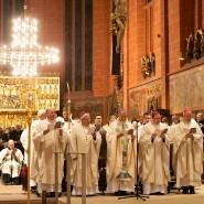 Klangvoll: Zum Karlsamt kommen alljährlich viele geistliche Würdenträger in den Bartholomäusdom. (Archivbild)