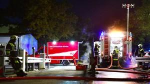 Feuer auf BMW-Werksgelände in München ausgebrochen