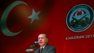 Hat auch viele Fans in Deutschland: der türkische Staatspräsident Erdogan.